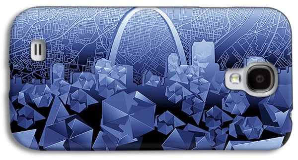 St Louis Skyline Geometric2 Galaxy S4 Case