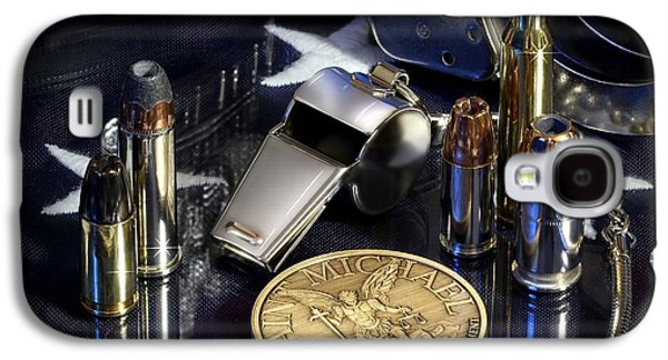 St Michael Law Enforcement Galaxy S4 Case by Gary Yost