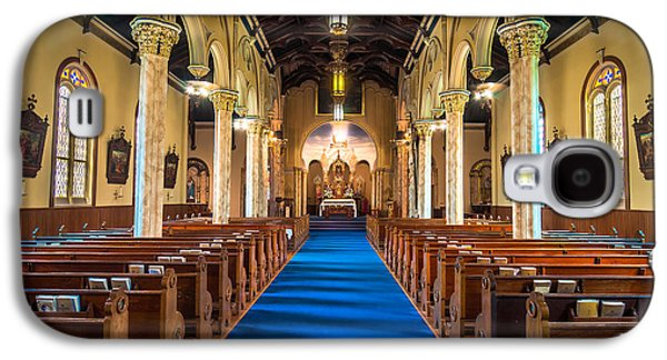 St. Michael The Archangel Church Sanctuary Galaxy S4 Case by Andy Crawford