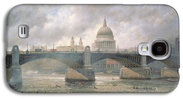St. Paul's Cathedral From The Southwark Bank Galaxy S4 Case by Richard Willis