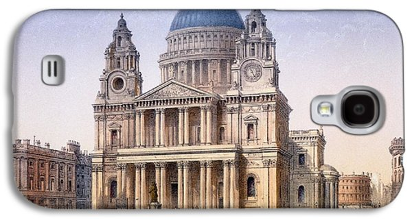 St Pauls Cathedral Galaxy S4 Case by Achille-Louis Martinet