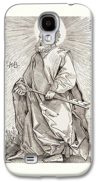 St Peter Holding The Keys Of The Kingdom Of Heaven Galaxy S4 Case by French School