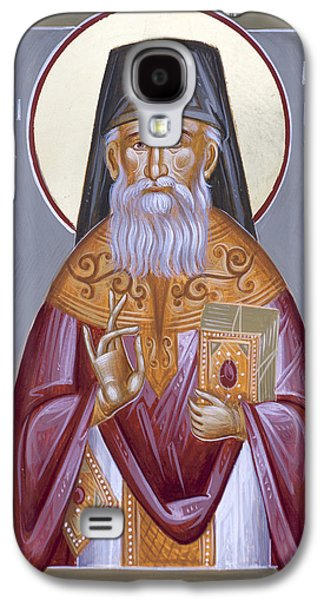 St Porphyrios The Kavsokalyvitis Galaxy S4 Case by Julia Bridget Hayes