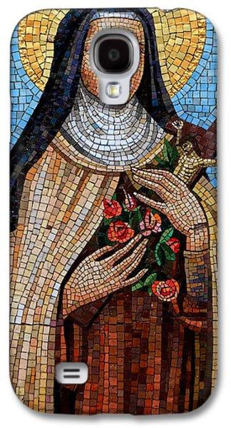 St. Theresa Mosaic Galaxy S4 Case