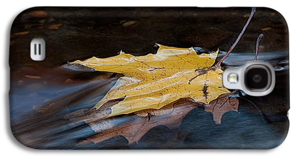 Stacked Autumn Leaves On Water Galaxy S4 Case