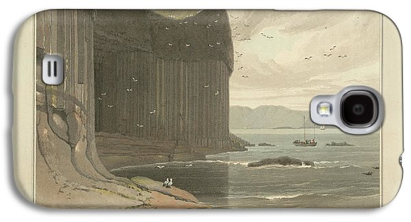 Staffa Coastline Near Fingal's Cave Galaxy S4 Case