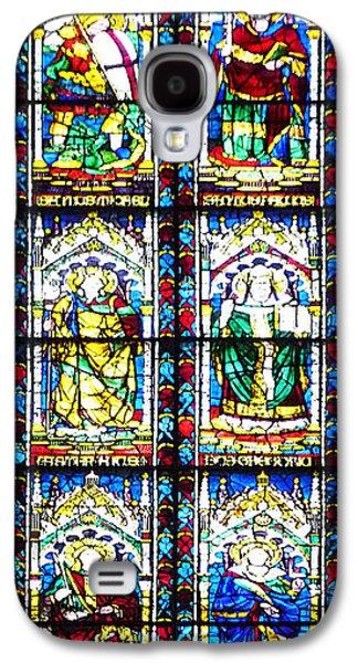 Stained Glass Window Of Santa Maria Del Fiore Church Florence Italy Galaxy S4 Case by Irina Sztukowski