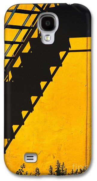Galaxy S4 Case featuring the photograph Staircase Shadow by Silvia Ganora