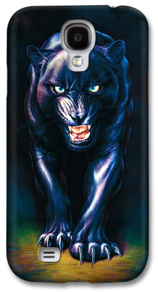 Stalking Panther Galaxy S4 Case by Andrew Farley
