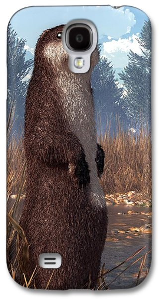 Standing Otter Galaxy S4 Case