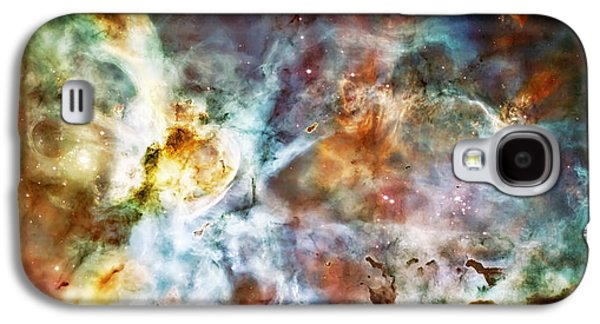 Star Birth In The Carina Nebula  Galaxy S4 Case by Jennifer Rondinelli Reilly - Fine Art Photography