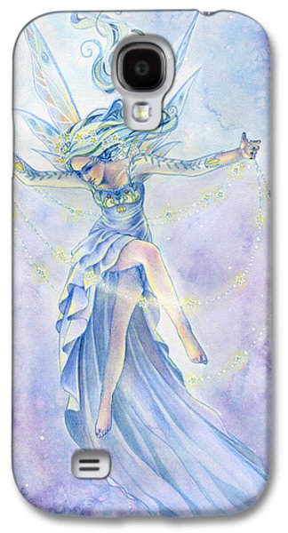 Star Dancer Galaxy S4 Case by Sara Burrier