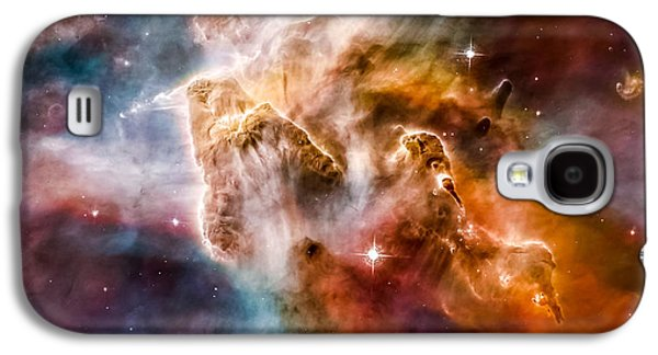 Star-forming Region In The Carina Nebula - Detail 1 Galaxy S4 Case by Marco Oliveira