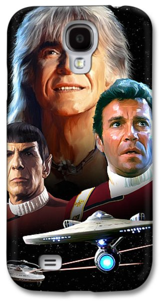 Star Trek II - The Wrath Of Khan Galaxy S4 Case by Paul Tagliamonte