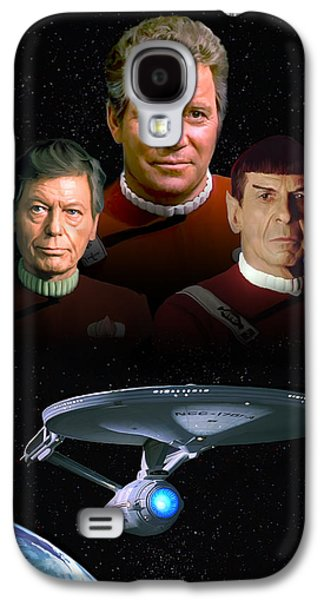 Star Trek - The Undiscovered Country Galaxy S4 Case by Paul Tagliamonte
