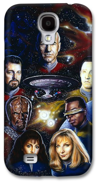 Star Trek Tng Galaxy S4 Case by Tim  Scoggins