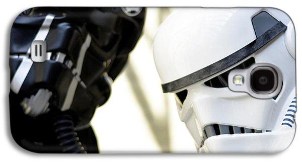Star Wars Stormtrooper Closeup Galaxy S4 Case