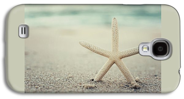 Starfish On Beach Vintage Seaside New Jersey  Galaxy S4 Case