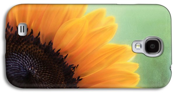 Sunflower Galaxy S4 Case - Staring Into The Sun by Amy Tyler