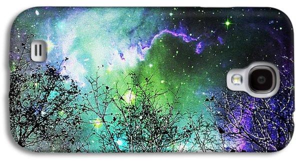 Starry Night Galaxy S4 Case by Anastasiya Malakhova