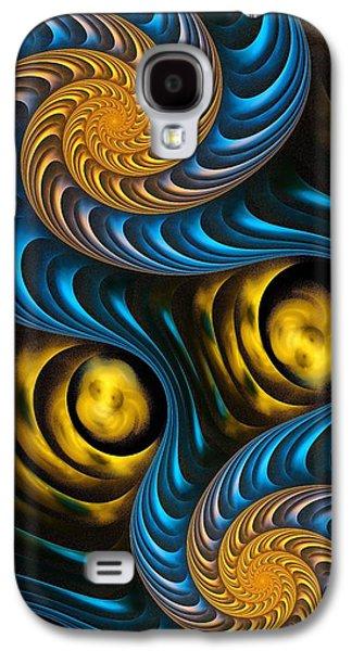 Starry Night - Fractal Art Galaxy S4 Case by Anastasiya Malakhova