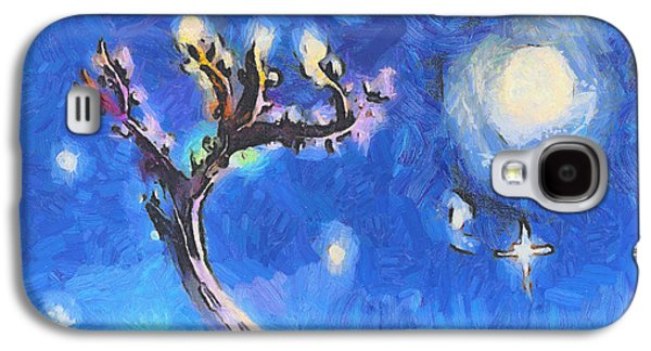 Starry Tree Galaxy S4 Case by Pixel  Chimp