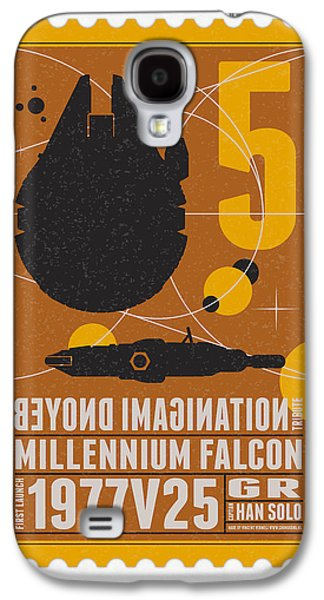 Science Fiction Galaxy S4 Case - Starschips 05-poststamp -star Wars by Chungkong Art