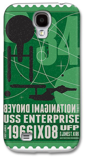 Starschips 34-poststamp - Uss Enterprise Galaxy S4 Case by Chungkong Art