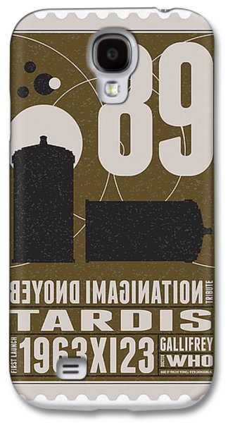 Science Fiction Galaxy S4 Case - Starschips 89-bonus-poststamp - Dr Who - Tardis by Chungkong Art