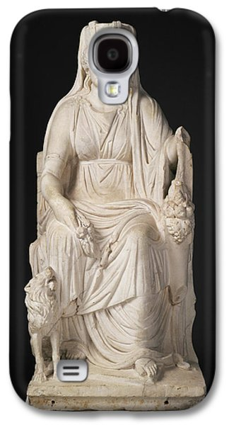 Statue Of A Seated Cybele With The Portrait Head Galaxy S4 Case