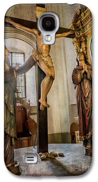 Statue Of Jesus Galaxy S4 Case by Adrian Evans