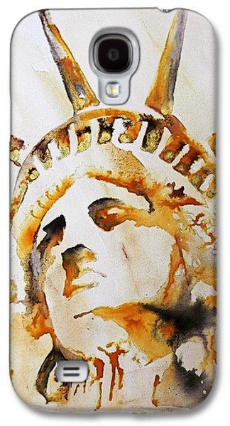 Statue Of Liberty Closeup Galaxy S4 Case