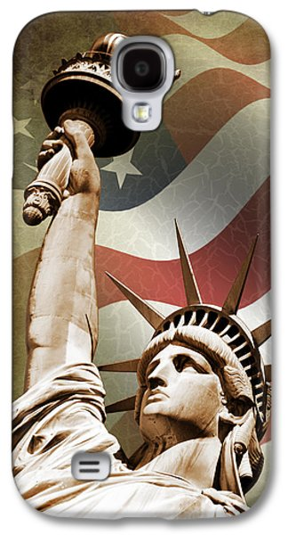 Statue Of Liberty Galaxy S4 Case by Mark Rogan