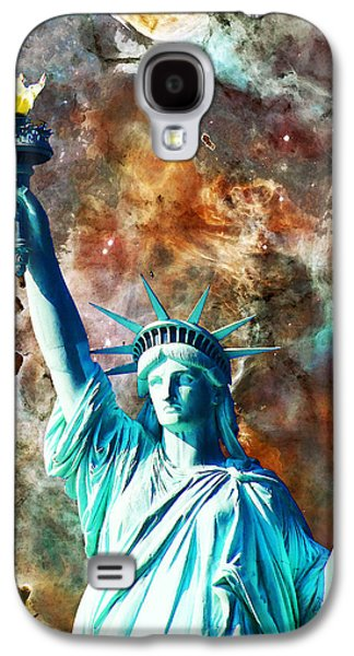 Statue Of Liberty - She Stands Galaxy S4 Case