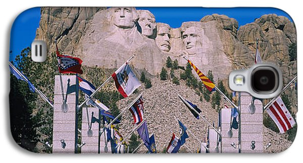Statues On A Mountain, Mt Rushmore, Mt Galaxy S4 Case