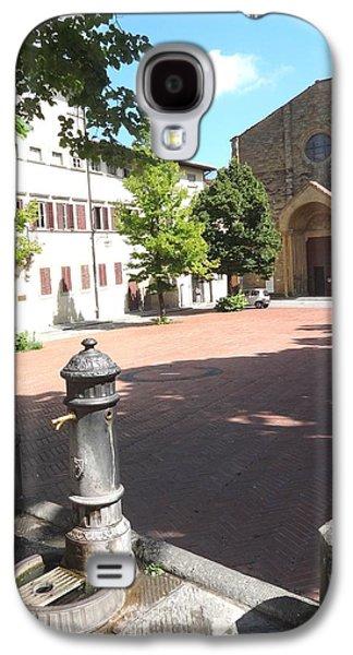 Piazza In Arezzo Galaxy S4 Case