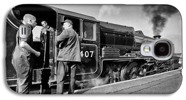 Steam Locomotive Galaxy S4 Case