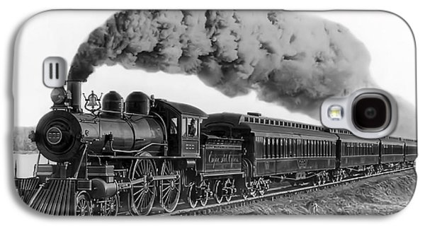 Train Galaxy S4 Case - Steam Locomotive No. 999 - C. 1893 by Daniel Hagerman