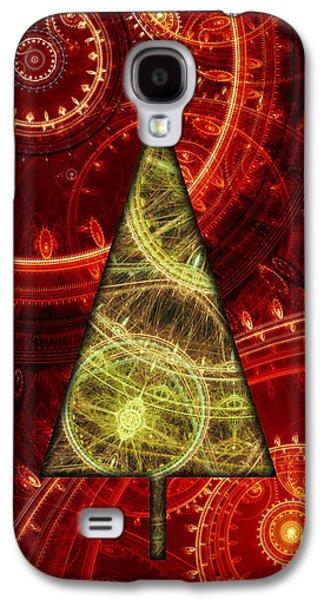 Steam Punk Christmas 1 Galaxy S4 Case