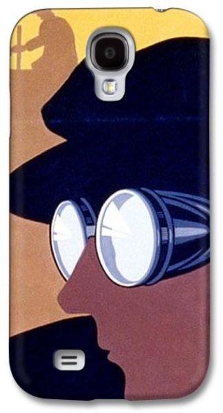 Steam Punk Wpa Vintage Safety Poster Galaxy S4 Case