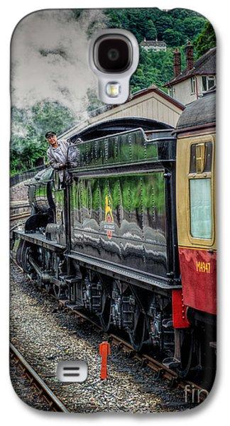 Steam Train 3802 Galaxy S4 Case by Adrian Evans