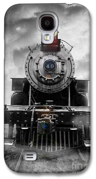 Steam Train Dream Galaxy S4 Case by Edward Fielding