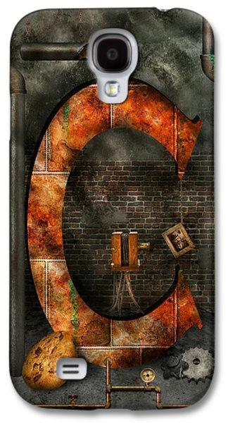 Steampunk - Alphabet - C Is For Chain Galaxy S4 Case