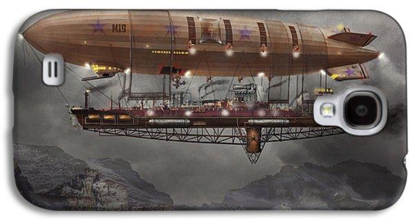 Steampunk - Blimp - Airship Maximus  Galaxy S4 Case