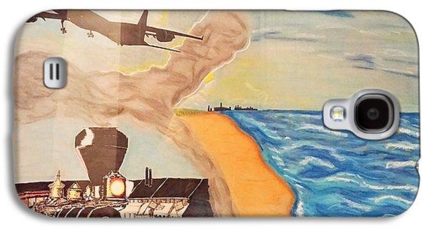Steel Of The Dunes Galaxy S4 Case by Robert Pikula