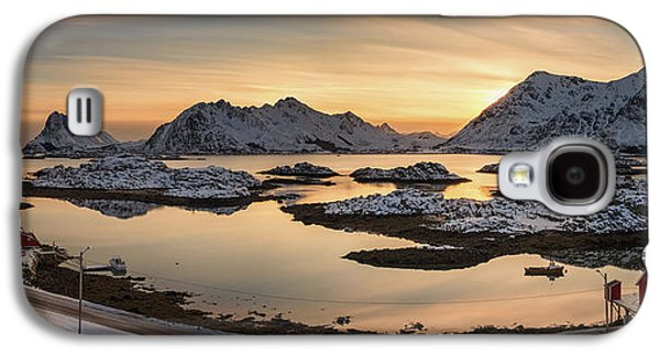 Steinefjord At Sunset, Lofoten Galaxy S4 Case