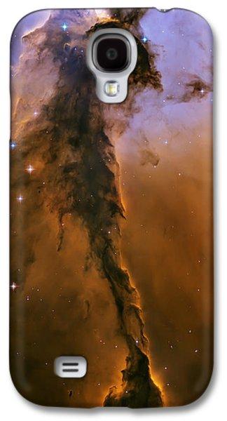 Stellar Spire In The Eagle Nebula Galaxy S4 Case by Adam Romanowicz