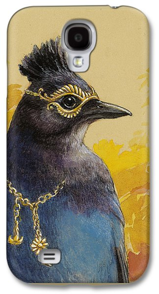 Steller's Jay Goes To The Ball Galaxy S4 Case by Tracie Thompson