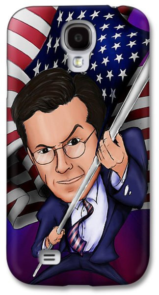 Stephen Colbert Galaxy S4 Case by Paul Gioacchini