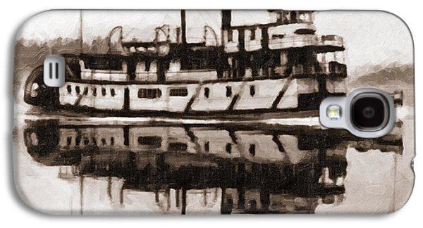 Sternwheeler Sol Simpson 1910 Galaxy S4 Case
